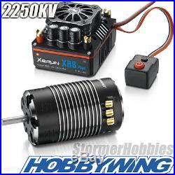 Hobbywing Xerun XR8 1/8 ESC & G2 2250KV Sensored Motor Combo HWI38020407