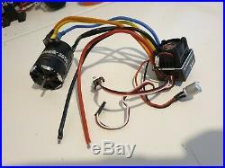 Hobbywing xerun justock brushless combo xr10 esc 3650 21.5t motor xray tamiya