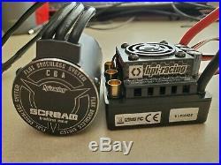 Hpi 101712, 101713 Flux Rage & Scream 1965KV Brushless Motor/ESC 4S capable