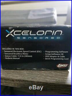 Losi 1/10 Xcelorin S 10.5T ESC Combo Sensored Brushless Motor Combo LOSB9554
