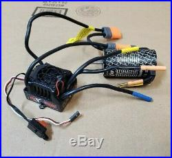 NEW Arrma Blx 185 6s brushless Esc AR390211 with IC5 Waterproof & 2050kv MOTOR
