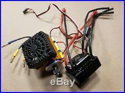 NEW Brushless motor (2030kv) 120A waterproof ESC DHK TRAXXAS VXL