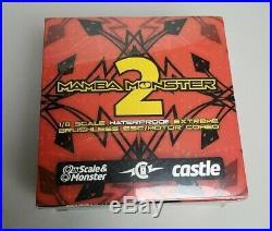 NEW Castle Creations 1/8 Mamba Monster 2 ESC & Sensored 1515 2200kv Motor Combo