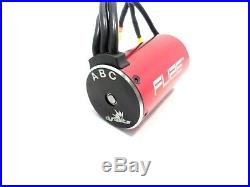 New Dynamite 130A Brushless ESC and Fuze 4-Pole 3800Kv 550 Motor Losi Tenacity