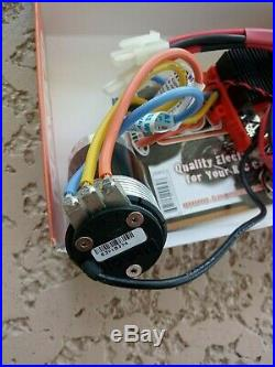 New Novak Havok High Voltage ESC with550 HV 7.5 brushless motorHobby Wing, castle