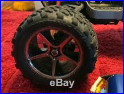 Pre Owned Mini Erevo 1/16 Vxl3m Motor Esc & Truck For Parts/fix READ Description