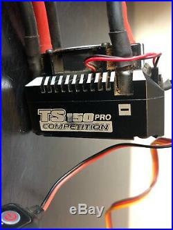 REDS Racing 2100kV Brushless Motor With Toro TS150 Comepetition ESC Sensored