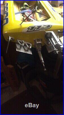 TFL Pursuit Miss Geico, Mono Yellow TP 2000KV Motor, VXP ESC, Prop