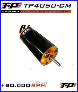 TP Power TP4050-CM 80kRPM Brushless 1/8 Motor xlx castle mamba mxl6 traxxas esc