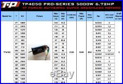 TP Power TP4050-PRO 5000W 1/8 Brushless Car Boat Motor xlx mamba flier esc