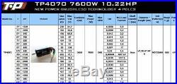 TP Power TP4070 107mm 7600W 1/8 Brushless Motor xlx mamba castle 4s 6s 8s esc