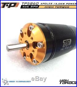 TP Power TP5860 1/5 Brushless Motor xmaxx max5 castle xlx ztw esc 8s 12s castle