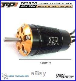 TP Power TP5870 40K RPM 1/5 Brushless Motor xlx sss castle hydrofoil 2028 esc