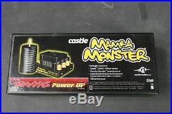 TRAXXAS 3395 Castle Creations Mamba Monster ESC and Motor Combo 335