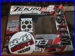 Tekin RX8 GEN3/Redline T8 GEN2 1/8 Buggy Brushless ESC/Motor Combo (2650kV)