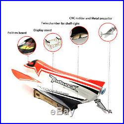 TenShock F1 Brushless 2.4G RC Formula ARTR High Speed Boat With Motor 80A ESC Red