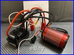 Trackstar Hobbywing SC8 120A 2025KV 1/8 Buggy Truggy Brushless ESC Motor Combo
