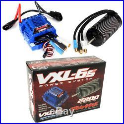 Traxxas 3480 Velineon VXL-6s Brushless Power System ESC & Motor E-Revo / UDR
