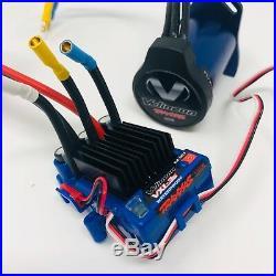 Traxxas Rustler 4x4 VXL Velineon Waterproof Brushless Motor + VXL-3S ESC System