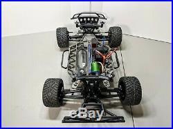 Traxxas Slash 4x4 VXL 1/10 with Upgraded Castle Brushless Motor and ESC Nice