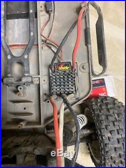 Traxxas Slash Brushless With Castle Creation Motor And Esc With 3 Cell Lipo
