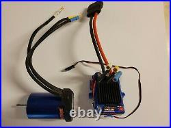 Traxxas VXL-3s Velineon Brushless Motor 3351R & Esc 3355R 4 Pole Slash Rustler