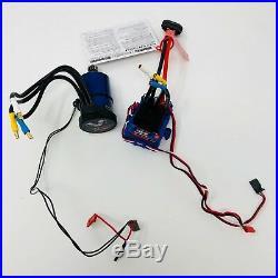 Traxxas Velineon Waterproof Brushless Motor + VXL 3S ESC System 3355X 3351R