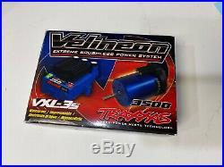 Traxxas iD VXL-3s ESC 3355R & Velineon 3500 Brushless Motor