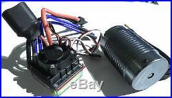 Turnigy 1/8 4s 14.8v Brushless System 100A Speed Control ESC, 2100kv Motor