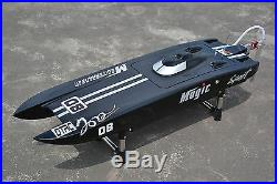 US Stock DT RC Electric Boat E32 Catamaran With Motor Servo ESC Fiber Glass