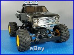 Vintage Tamiya 1/10 RC Blackfoot 3 III 2WD WT01+Brushless ESC Motor+2.4GHz Radio