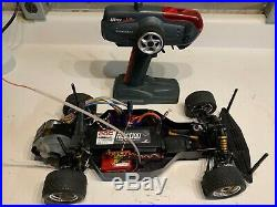 Vintage Team Associated Rc10ds with Novak brushless ESC and motor
