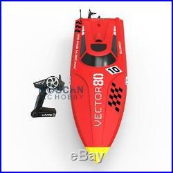 Volantex Vector 80 ABS Hull RTR RC Racing Boat Model With Motor Servo ESC Battery