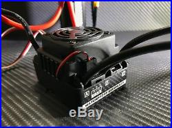 WP-8BL100 2000KV 4S 1/8 Brushless ESC Motor Combo Fits 1/8 RC Car Traxxas E-Maxx