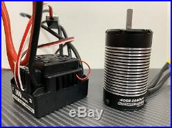 WP-8BL100 2650KV 1/8 Brushless ESC Motor Combo Fits 1/8 RC Buggy Touring Car