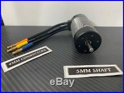 WP-8BL100 3674 2200KV 1/8 RC Brushless ESC Motor Combo For 1/8 Buggy Truggy 4S