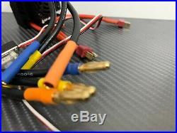 WP-8BL100 RTR 4S 4068 2400KV 1/8 Brushless ESC Motor Combo For 1/8 RC Car Buggy