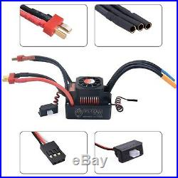 Waterproof 4076 2000KV Brushless Motor with 150A ESC for 18 RC Car Truck Buggy