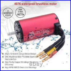 Waterproof Combo 2000KV Brushless Motor + 6S 150A ESC For 1/8 RC Racing Car