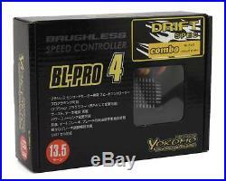 YOKBL-P4135D Yokomo Drift Spec BL-PRO4 Brushless ESC/Motor Combo Set (13.5T)